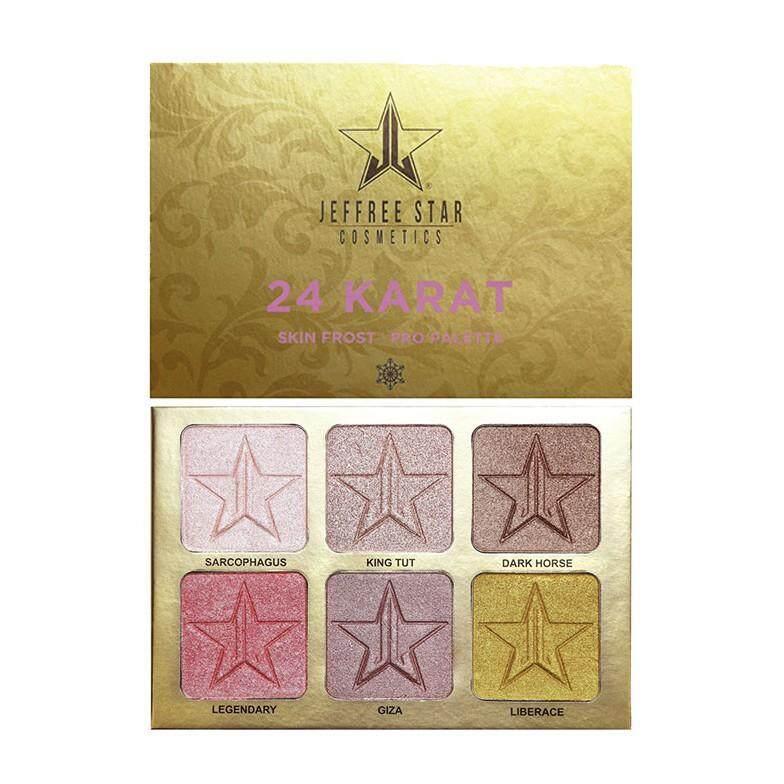 FREE GIFTJEFFREE STAR 24 Karat Skin Frost Pro Palette