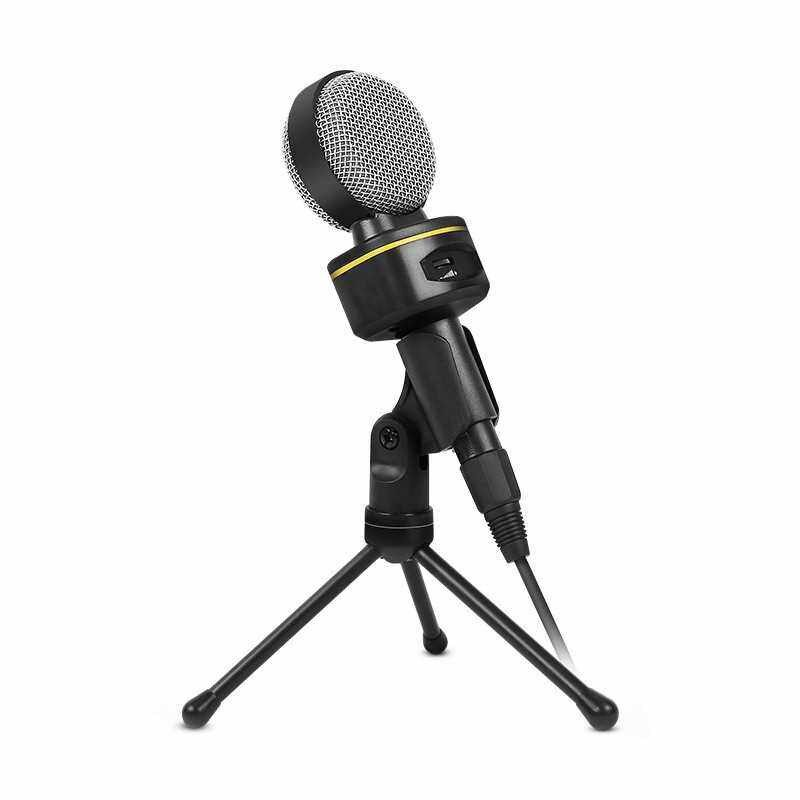 Best Selling SF-930 Portable Mini Microphone for Audio Studio Sound Recording PC Laptop Computer 3.5mm Plug Stereo Mic (Standard)
