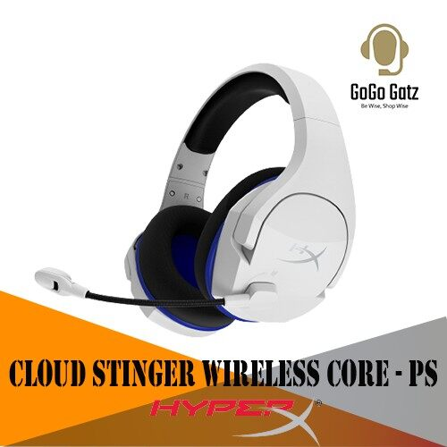 {HHSS1C-KB-WT/G}{Ship Out Within 24 Hours} HyperX Cloud Stinger Core Wireless Gaming Headset PS4 and PS5