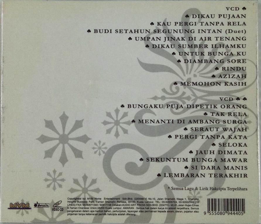 Dato Ahmad Jais Memori Hit 20 Lagu-Lagu Hit Sepanjang Masa VCD Karaoke