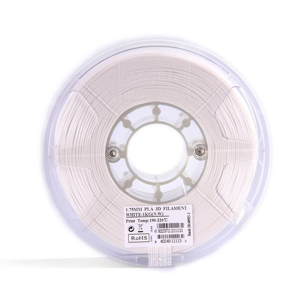 Printers & Projectors - PLA 1.75mm 3D Printer Filament Corn Grain Refining Material 1KG Spool (2.2lbs) White - WHITE / GREEN / BLUE / NATURAL / YELLOW / RED / BLACK