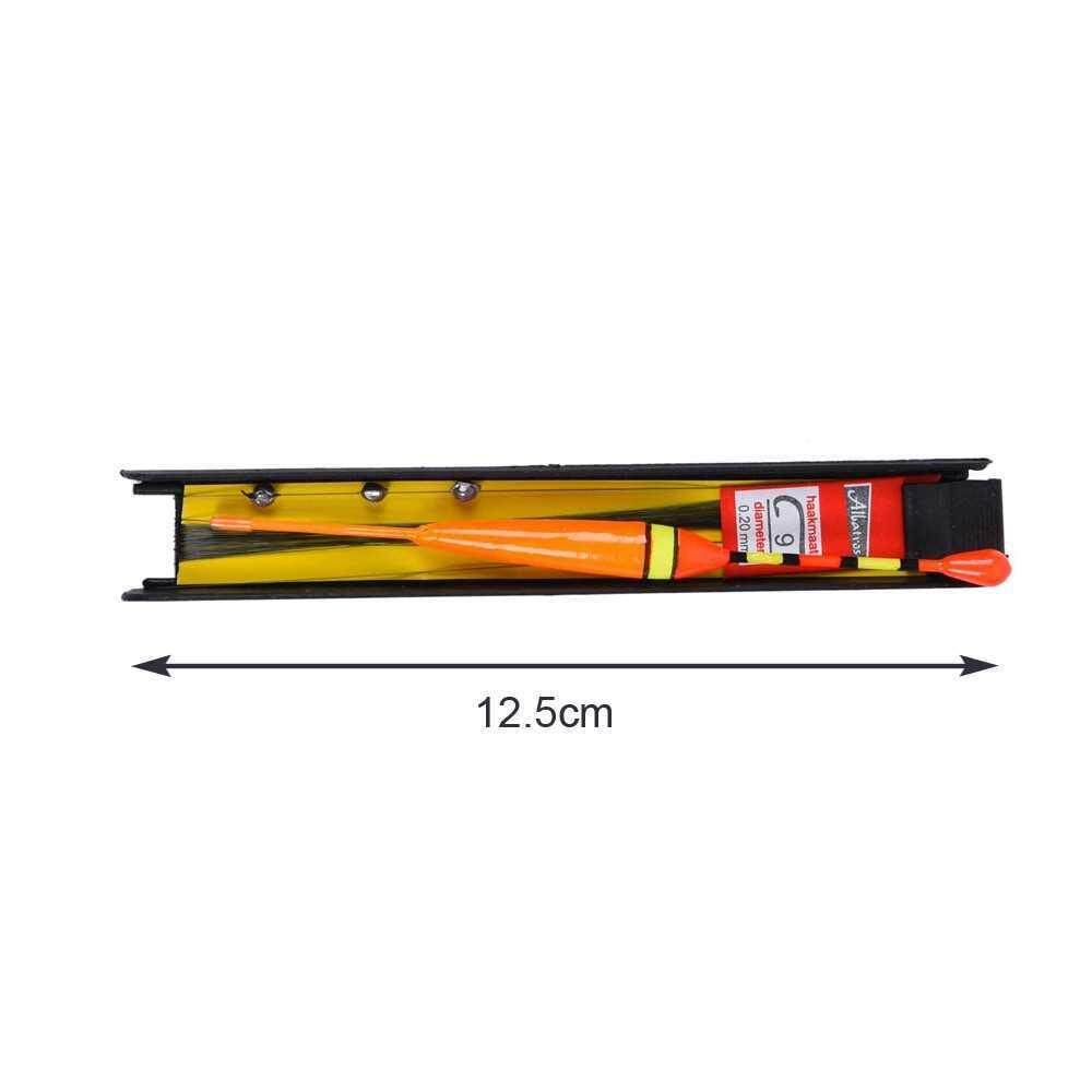 3Pcs 12.5cm 10g Vertical Buoy Fishing Accessories Bobber Wood Fishing Float Tackle 3 Colors (multi)