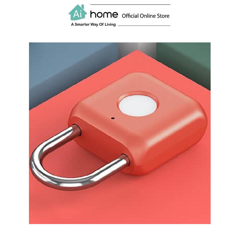 UODI Kitty Smart Fingerprint Padlock with 1 Year Malaysia Warranty [ Ai Home ] UFPR