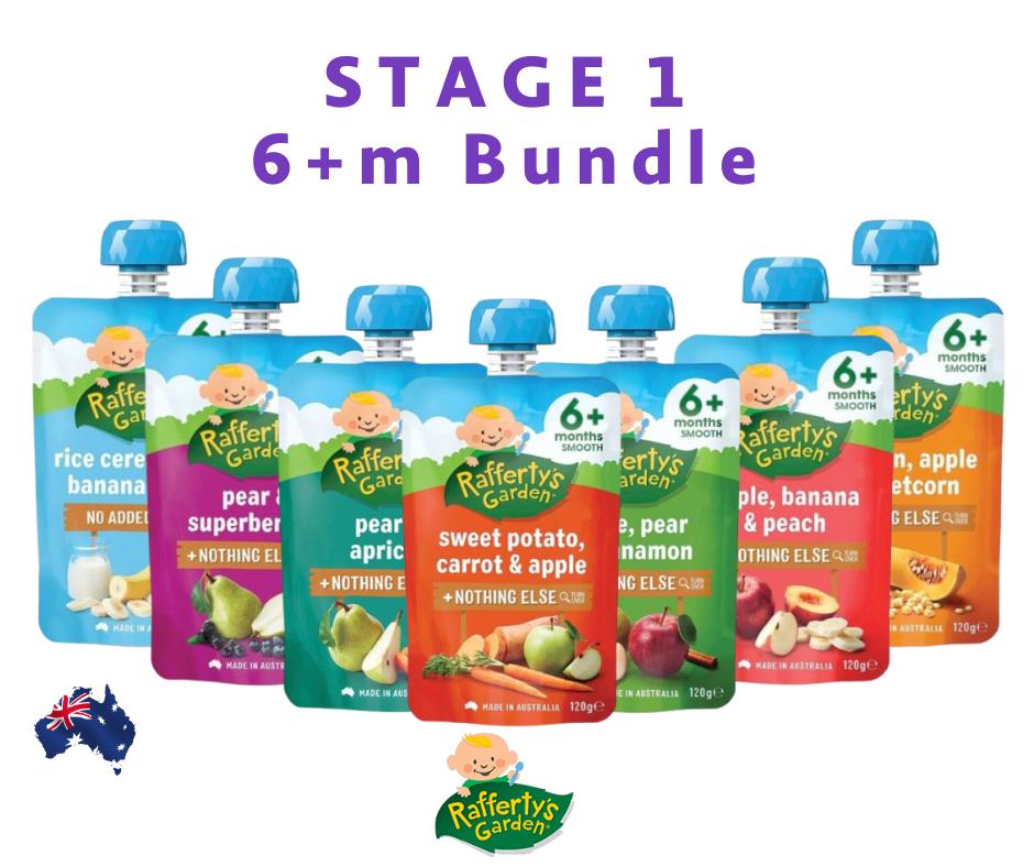 Rafferty\'s Garden Bundle Set Stage 1 [ 6 months ] [Exp Date : Nov 2021- Feb 2022]