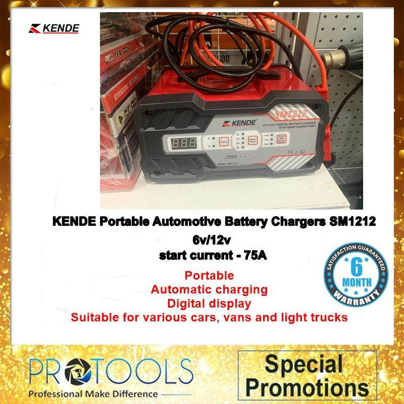 KENDE Portable Automotive car Battery Charger SM1212