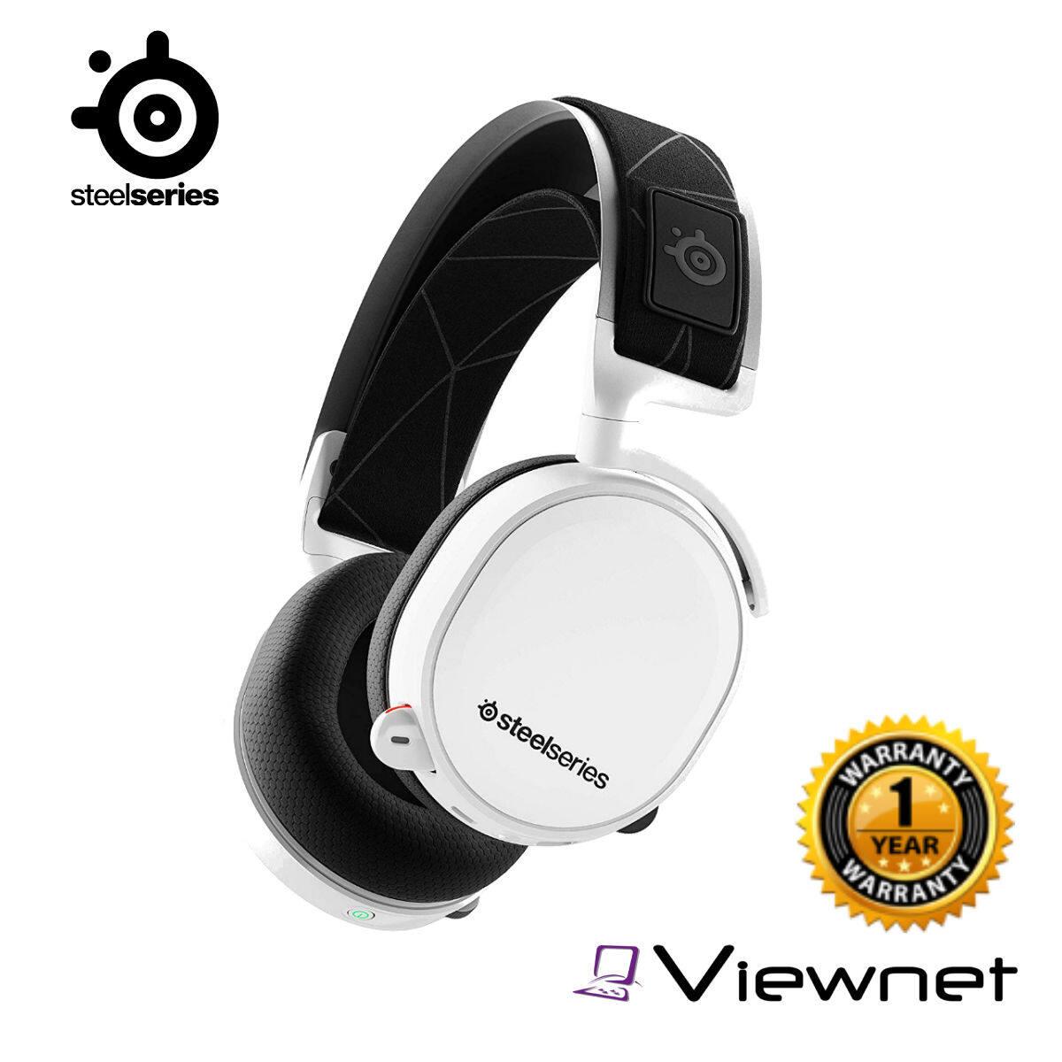 Steelseries Arctis 7 Black/White Wireless Headset ( 2019 Edition )