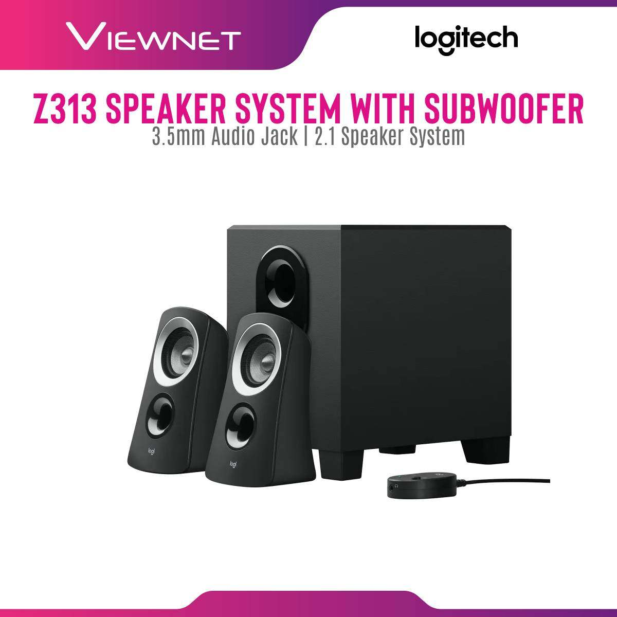 Logitech Z313 2.1 Speaker System with Subwoofer