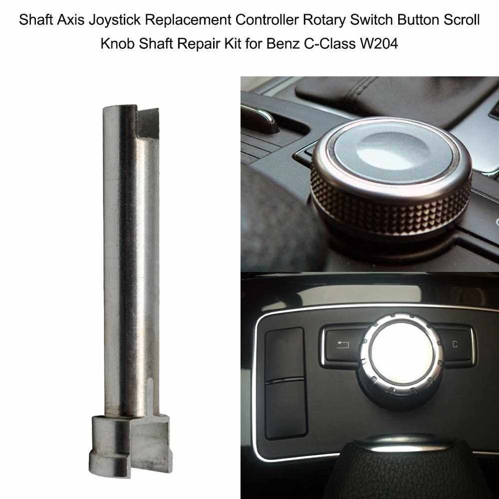 Shaft Axis Joystick Replacement Controller Rotary Switch Button Scroll Knob Shaft Repair Kit for Benz C-Class W204 (Standard)