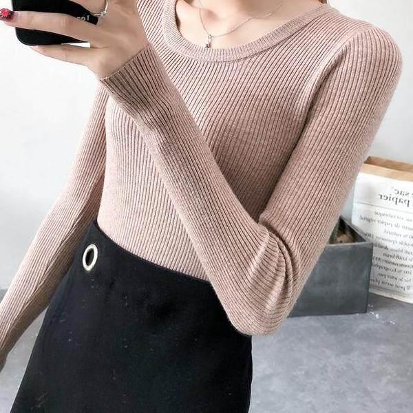 JYS Fashion Korean Style Women Knit Top Collection 526-6574col525a-6574--Khakis- One size