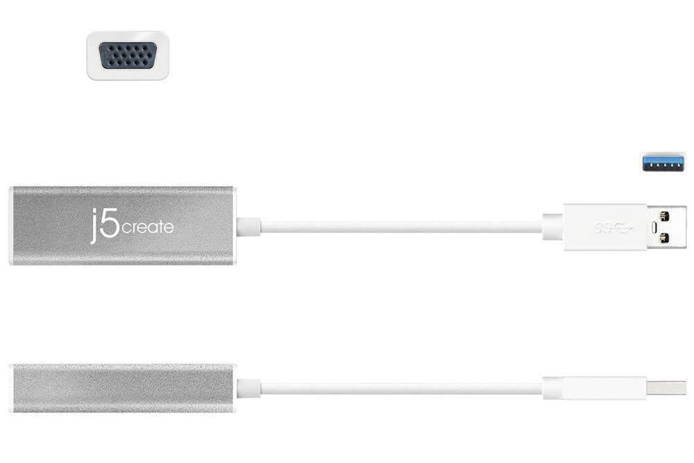 J5 Create JUA315-1O USB 3.0 To VGA Converter