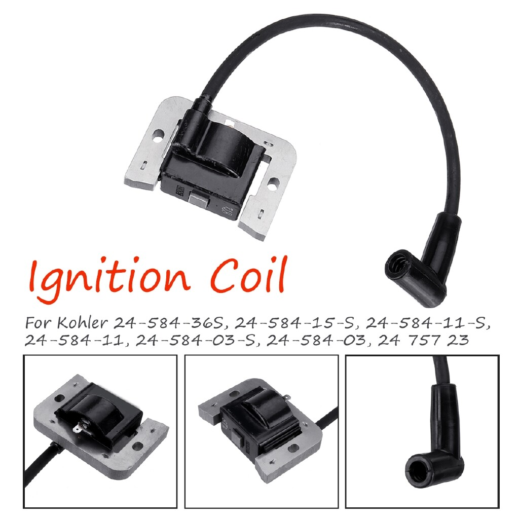 Moto Accessories - Ignition Coil For Kohler 75723 24-584-36S/24-584-15-S/24-584-11-S/24-584-03-S/24 - Motorcycles, Parts