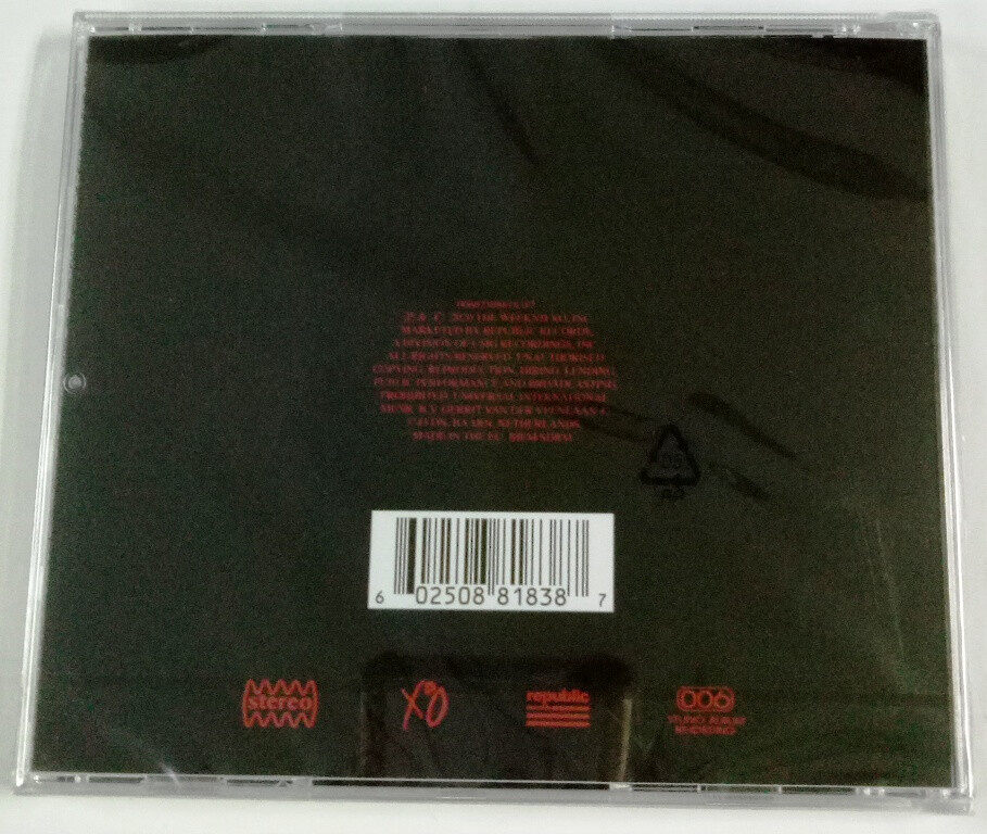 The Weeknd - After Hours Imported CD Parental Advisory Explicit Content