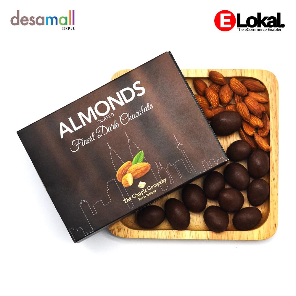 C'APPLE Dark Chocolate Almond (70g)