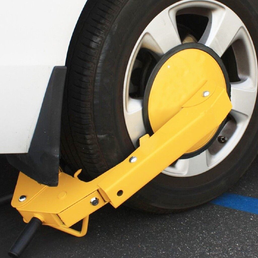 Car Lights - Heavy Duty 6.3KG Car Truck Vehicle Ter Lock Wheel Clamp Lock Anti-Theft - Replacement Parts