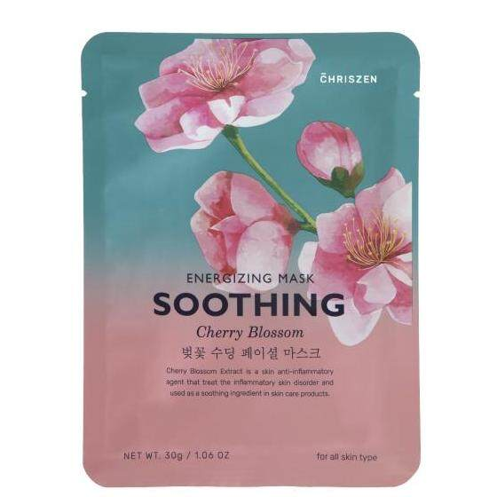 Chriszen Energizing Mask Cherry Blossom (Soothing) 30g/1.06oz (Made In Korea)