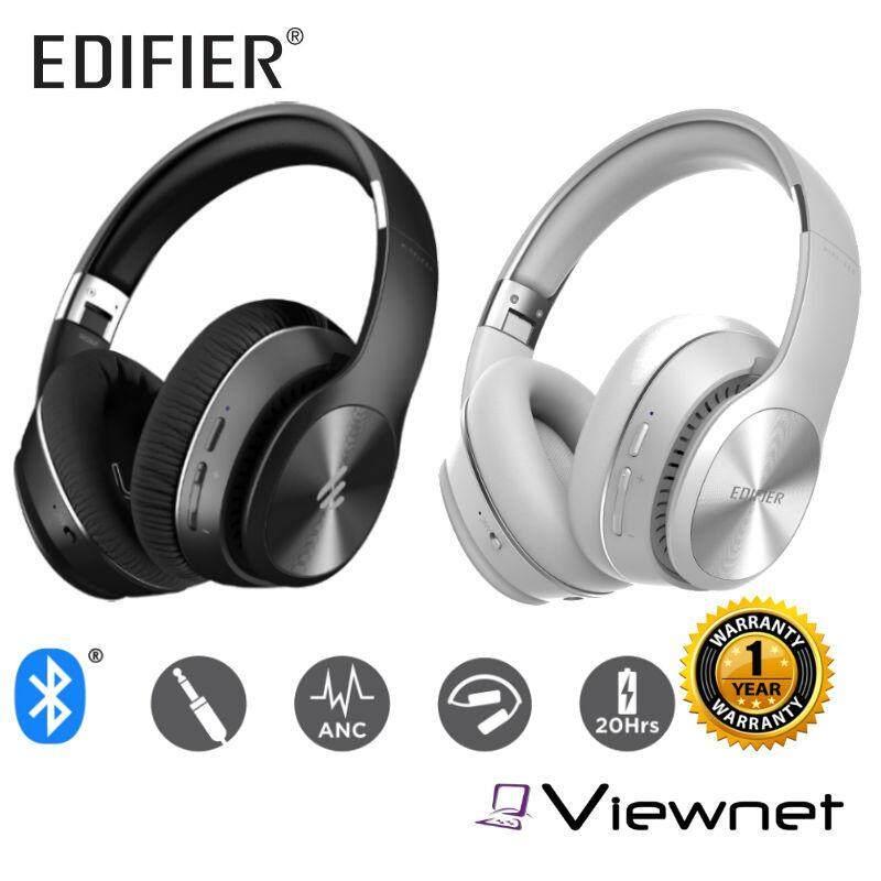 Edifier W828NB Black/White Wireless Headphone (Noise Cancelling)