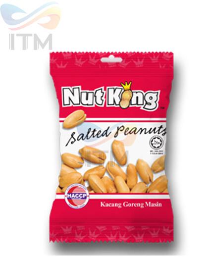 NUT KING SALTED PEANUTS-12GM X 12PICS