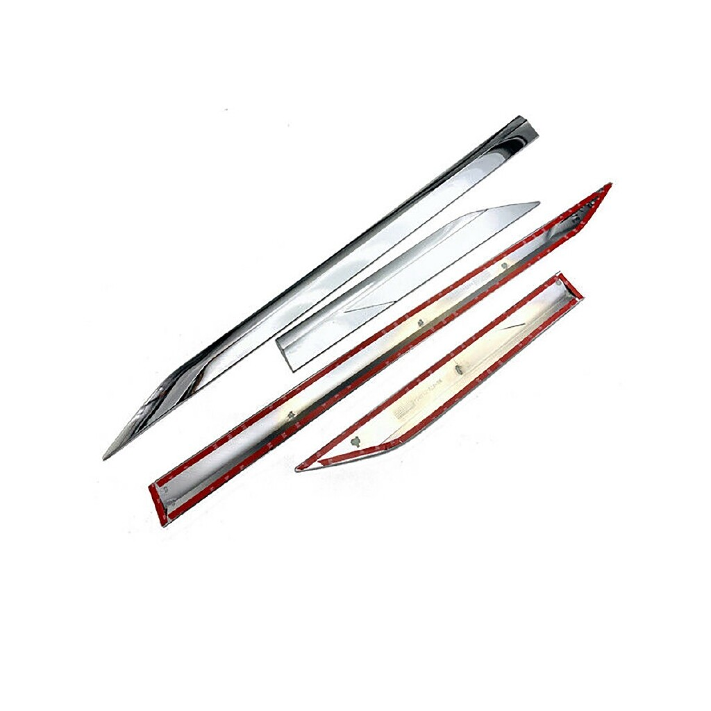 Car Stickers - ABS Chrome Side Panel Door Body Molding Trim Cover For Toyota RAV4 2020 - Accessories