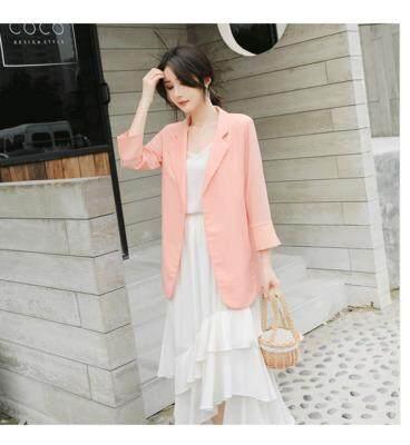 (Pre Order14 Days JYS Fashion Korean Style Women Blazer Collection 525a- 7591col525a-7591--Pink -S