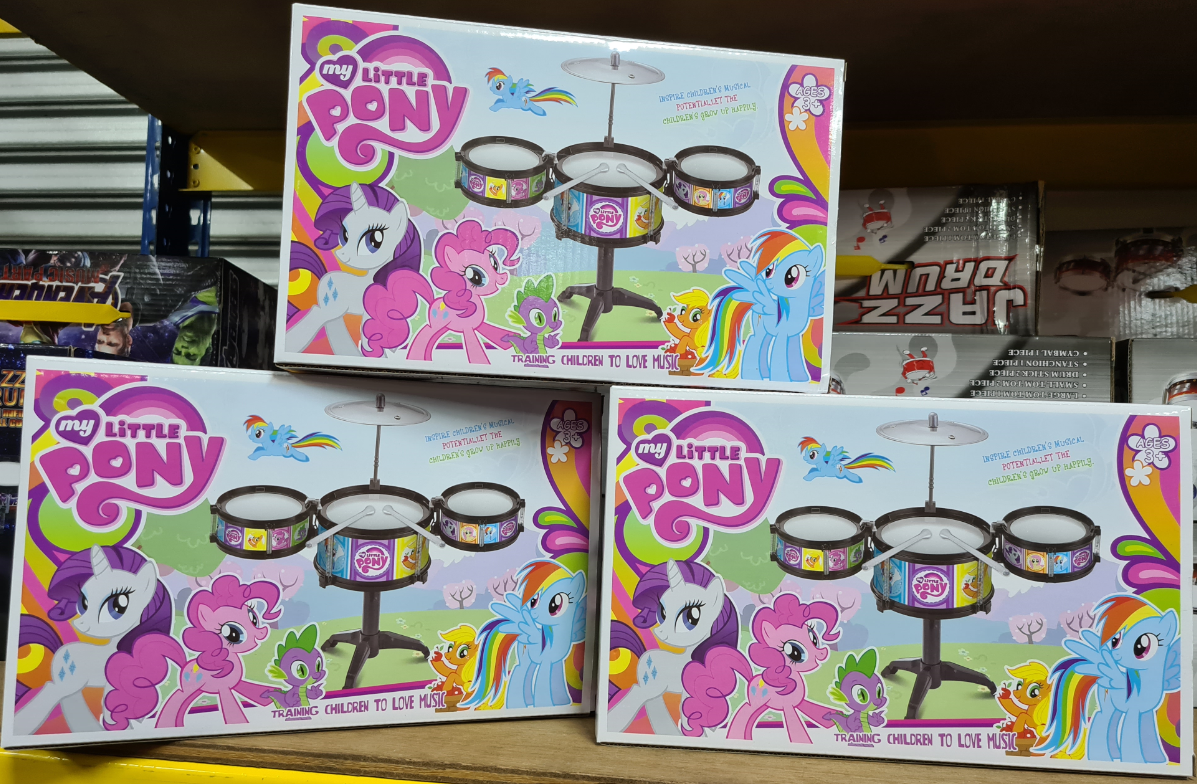 My little Pony Drum series for Kids