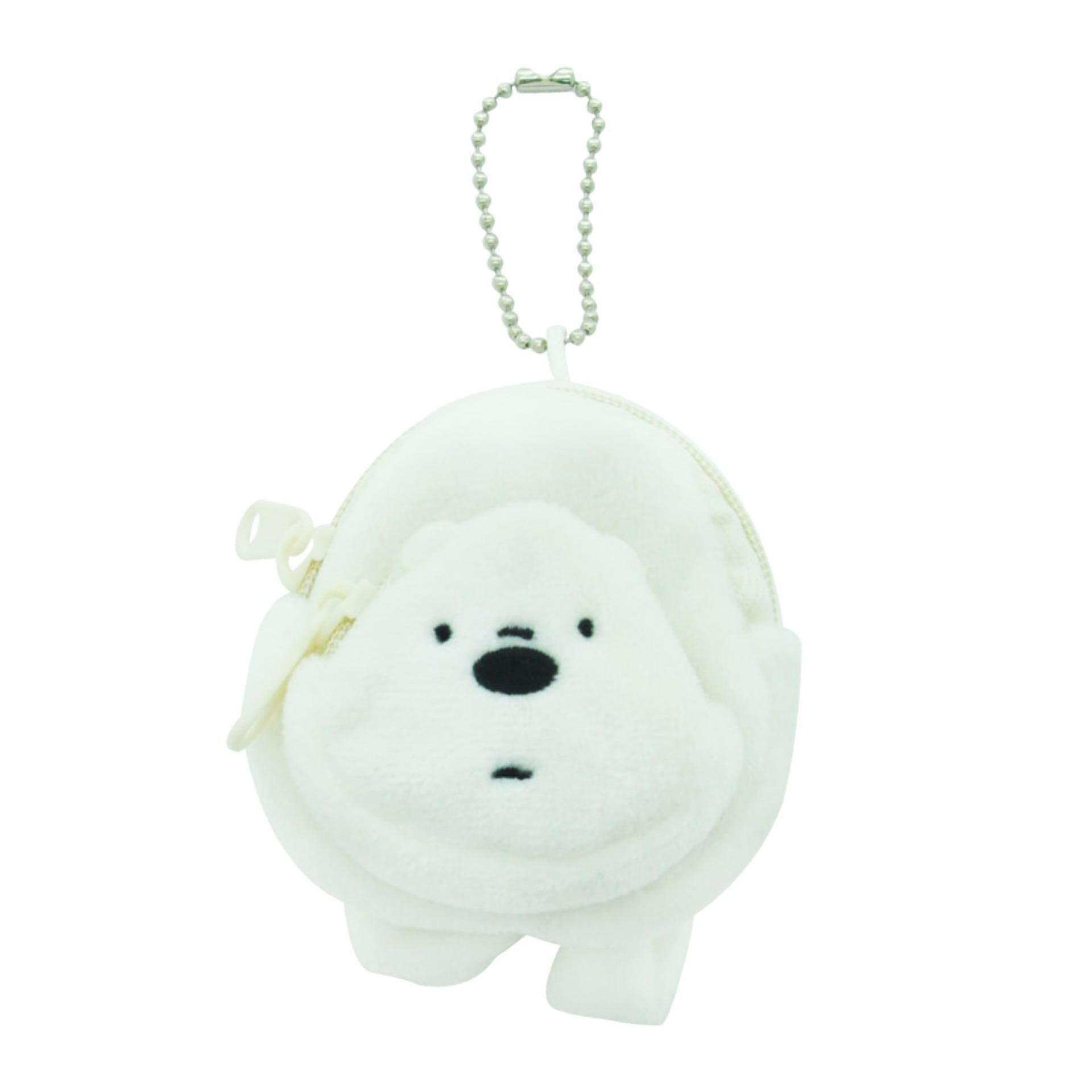We Bare Bears Mini Backpack Keyring - Ice Bear