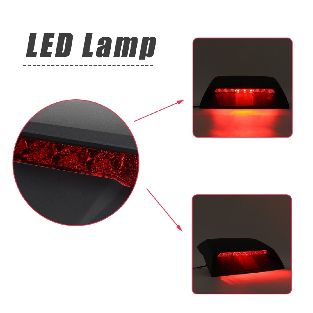 Engine Parts - LED Third Brake Light High-mount Stop Lamp for Chevrolet Cruze Sedan 2011-2015 - Car Replacement