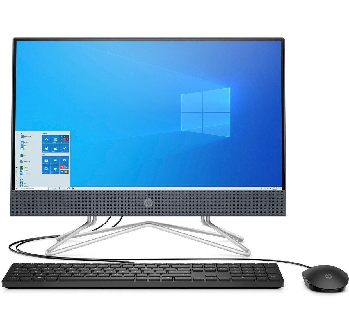 HP AIO 22-DF0212D ALL IN ONE DESKTOP AMD RYZEN 3 3250U 4GB DDR4 1TB DVDRW AMD RADEON KB+MSE 21.5