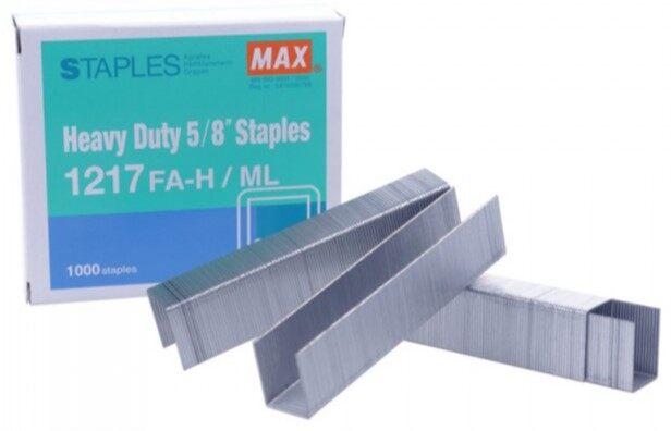 MAX Staples 1217 FAH (Stapler Bullet)