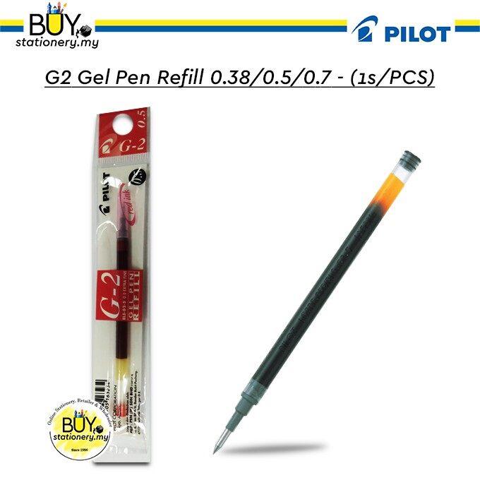 Pilot G2 Gel Pen Refill 0.38/0.5/0.7 - (1s/PCS)