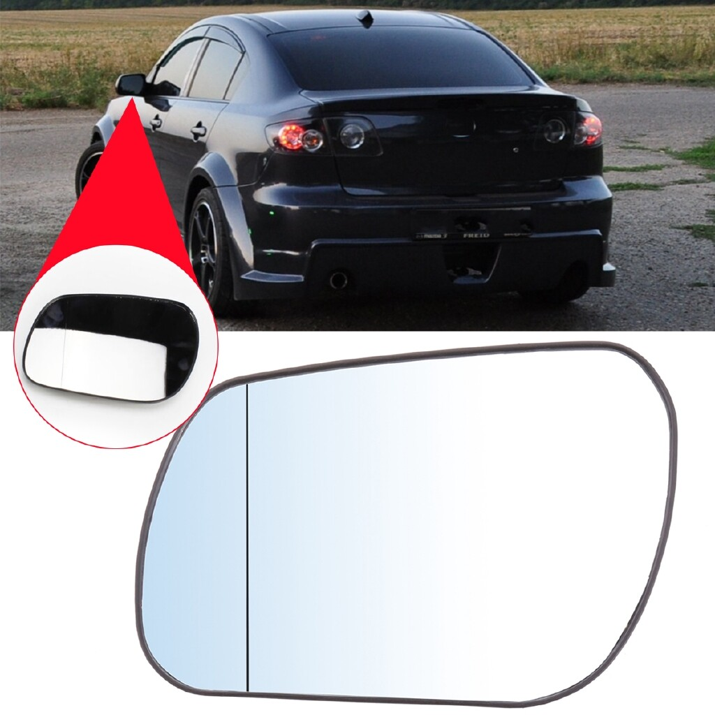 Automotive Tools & Equipment - Wing Mirror Glass For MAZDA 3 6 2004-2008 Aspheric Heated Passenger Left Side - Car Replacement Parts