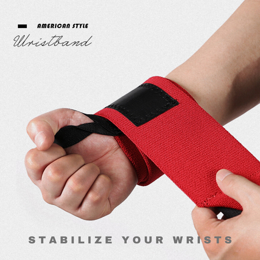 FITUALIZED Premium Wrist Wraps for Wrists Pain - Comfy Fabric - Super Supportive - Weightlifting, Powerlifting, Bodybuilding, Calisthenics, Strength Training, Crossfit, MMA, Sport & Exercise - Strong Fastening Straps - Thumb Loops - Supports & Braces