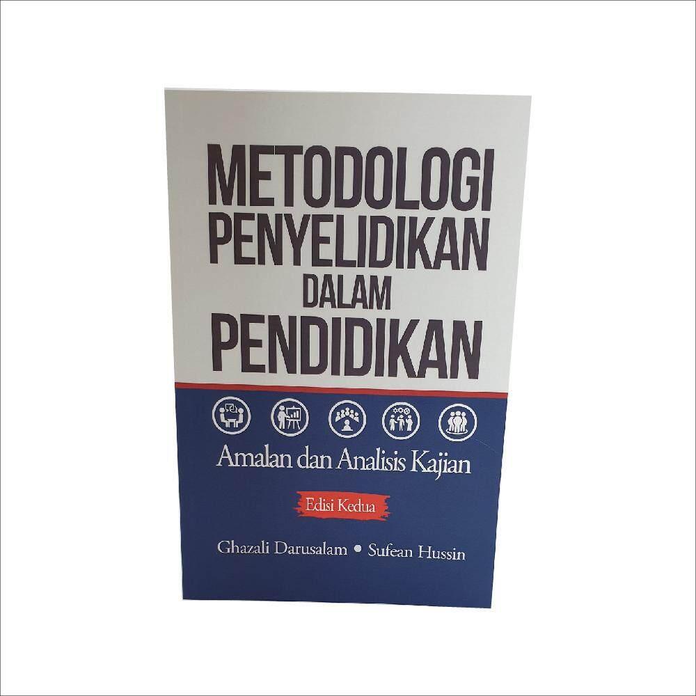 Metodologi Penyelidikan dalam Pendidikan Amalan dan Analisis Kajian ( edisi kedua ). Ditulis oleh Ghazali Darusalam dan Sufean Hussin. Diterbitkan oleh Penerbit Universiti Malaya