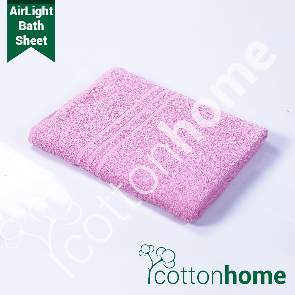 READY STOCK! AirLight Towel Bath Sheet  Made of 100% Natural Combed Cotton: Full Bath Size , Great for Women, XXXL Size!