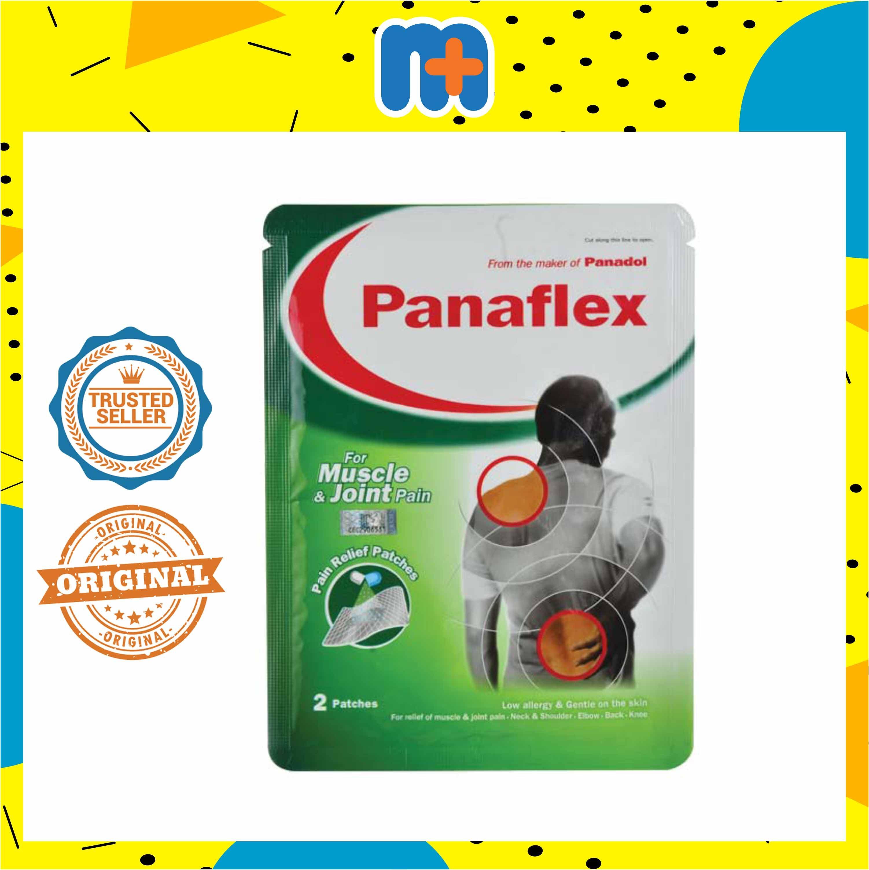 PANAFLEX PAIN RELIEF PATCH 2S