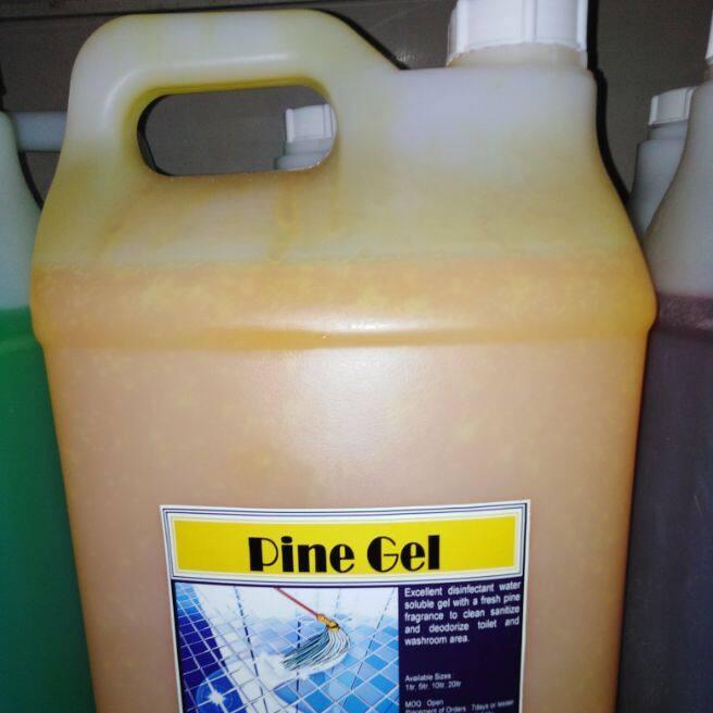 10 liter anti-bacterial disinfectant multi purpose pine gel cleaner