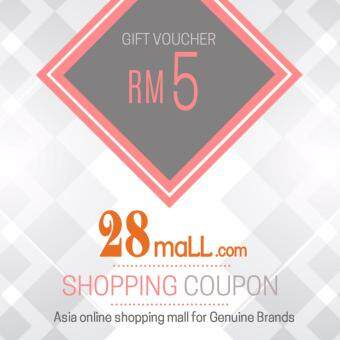 Harga RM5 Gift Voucher for 28Mall online mall (max 1 time purchase)