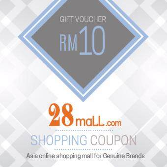 Harga RM10 Gift Voucher for 28Mall online mall (max 1 time purchase)