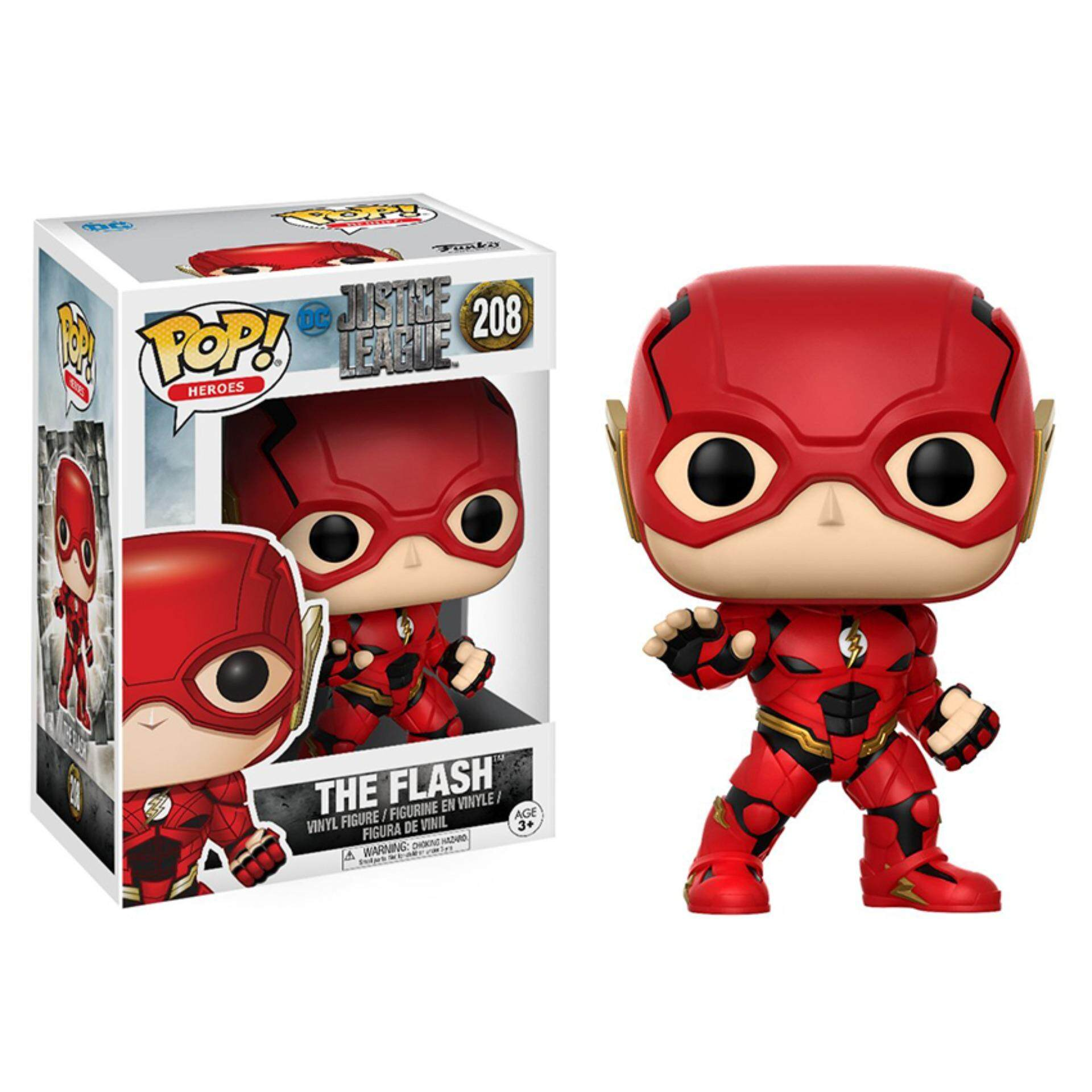 FUNKO POP! DC Heroes Justice League - The Flash Toys for boys