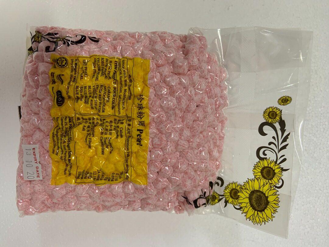 Ready Stock [Halal Jakim] Pink Pearl / Boba Pearl / Black Pearl / White Pearl / Dry Pearl 1KG / Boba / Milktea / 奶茶 / 珍珠 / 潮流 / 黑糖 / 好吃 / 零食