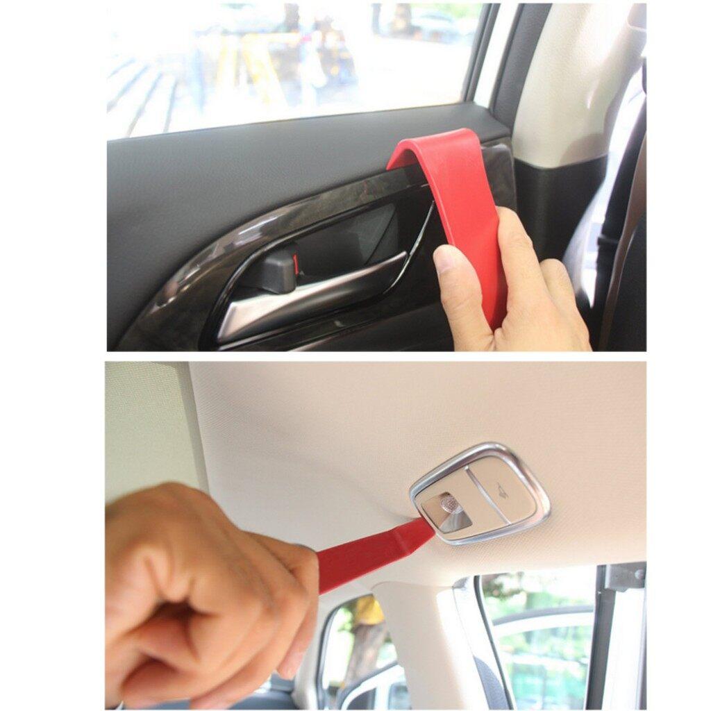 Automotive Tools & Equipment - 5 Piece Car Door Plastic Trim Panel Clip Dash Radio Removal Open Pry Tool Kit - Car Replacement Parts