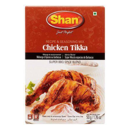 SHAN CHICKEN TIKKA BBQ MASALA 50 GM