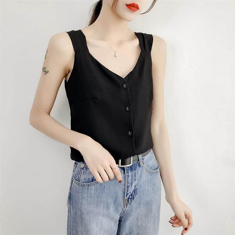 (Pre Order14 Days JYS Fashion Korean Style Women Chiffon top Collection -5217812col521-7812--Black -S