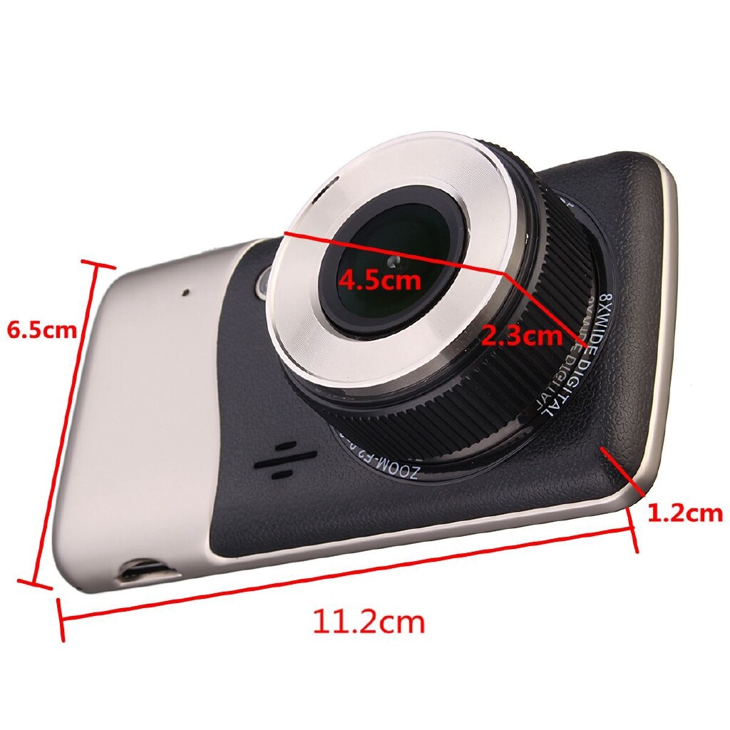 Windscreen Wipers & Windows - 4 Dual Lens Camera HD 1080P Car DVR Video Dash Cam Recorder Night Vision - Car Replacement Parts