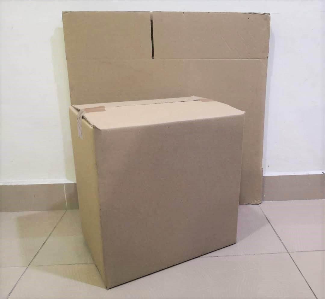9pcs Plain Carton Boxes (L330 X W236 X H330mm)