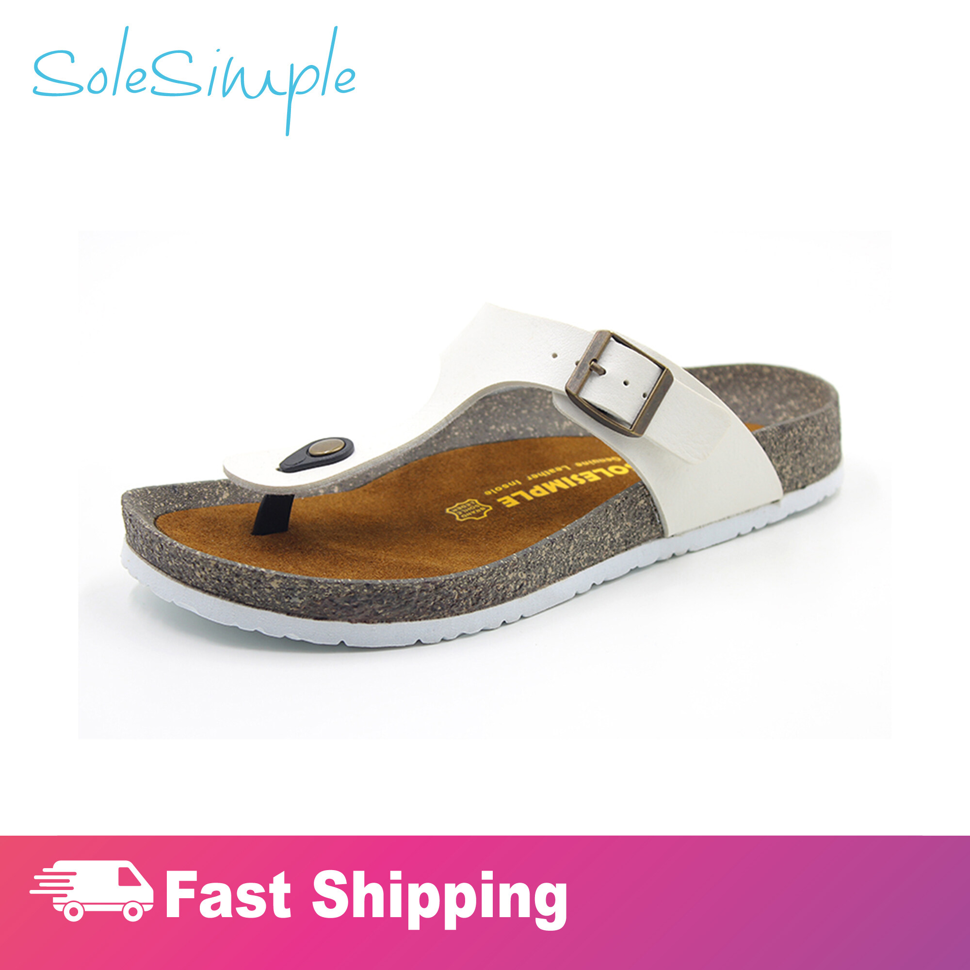 SoleSimple Rome - White / Sandal