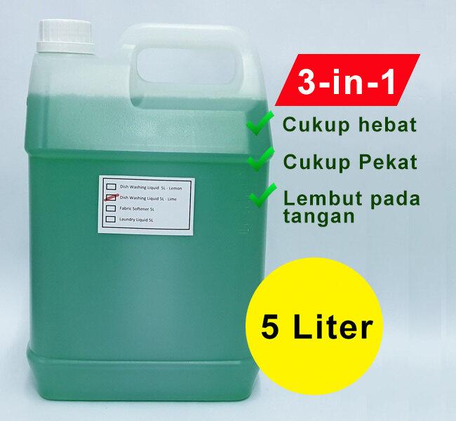 Dishwashing Liquid 5000ml/5kg/5Liter - Lime