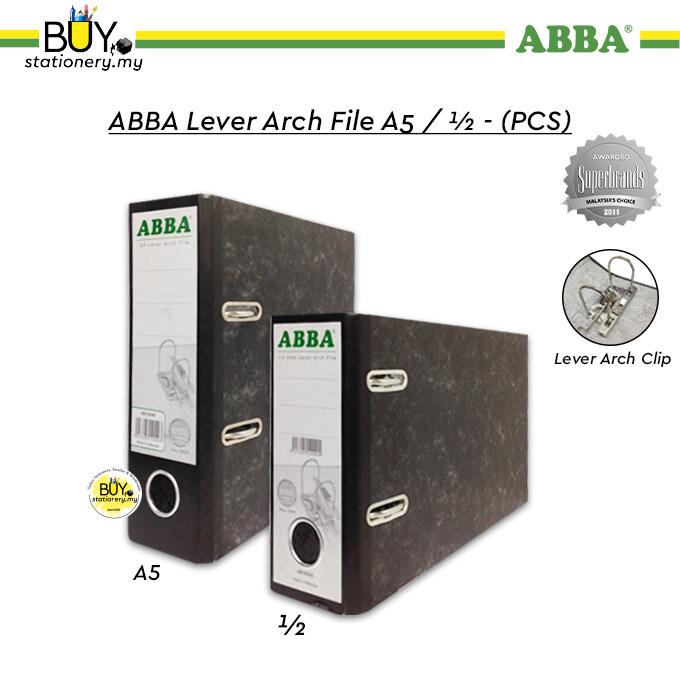 ABBA Lever Arch File A5 / ½ - (PCS)