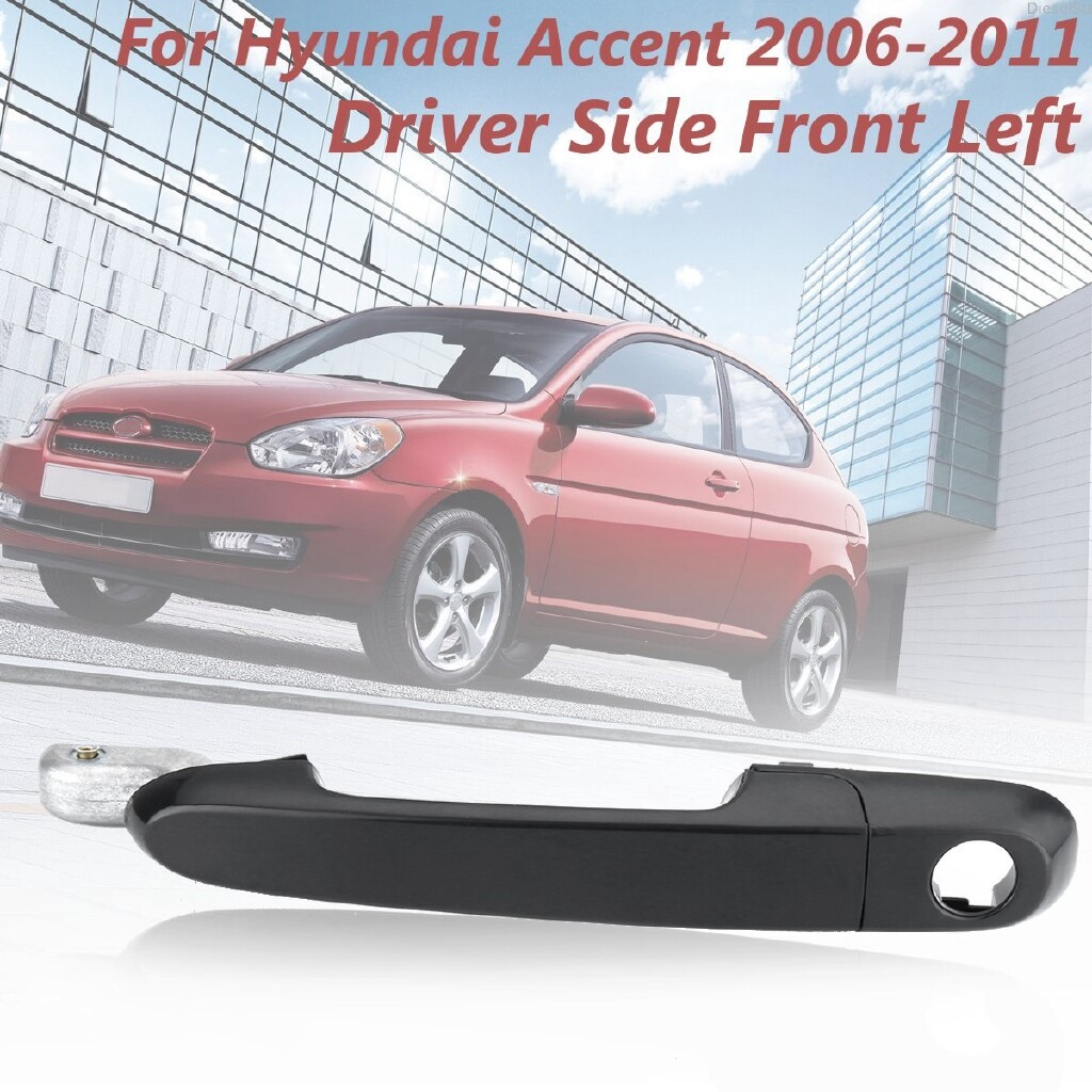 Car Stickers - Front Left Driver Side Exterior Outside Door Handle For Hyundai Accent 2006-2011 - Accessories