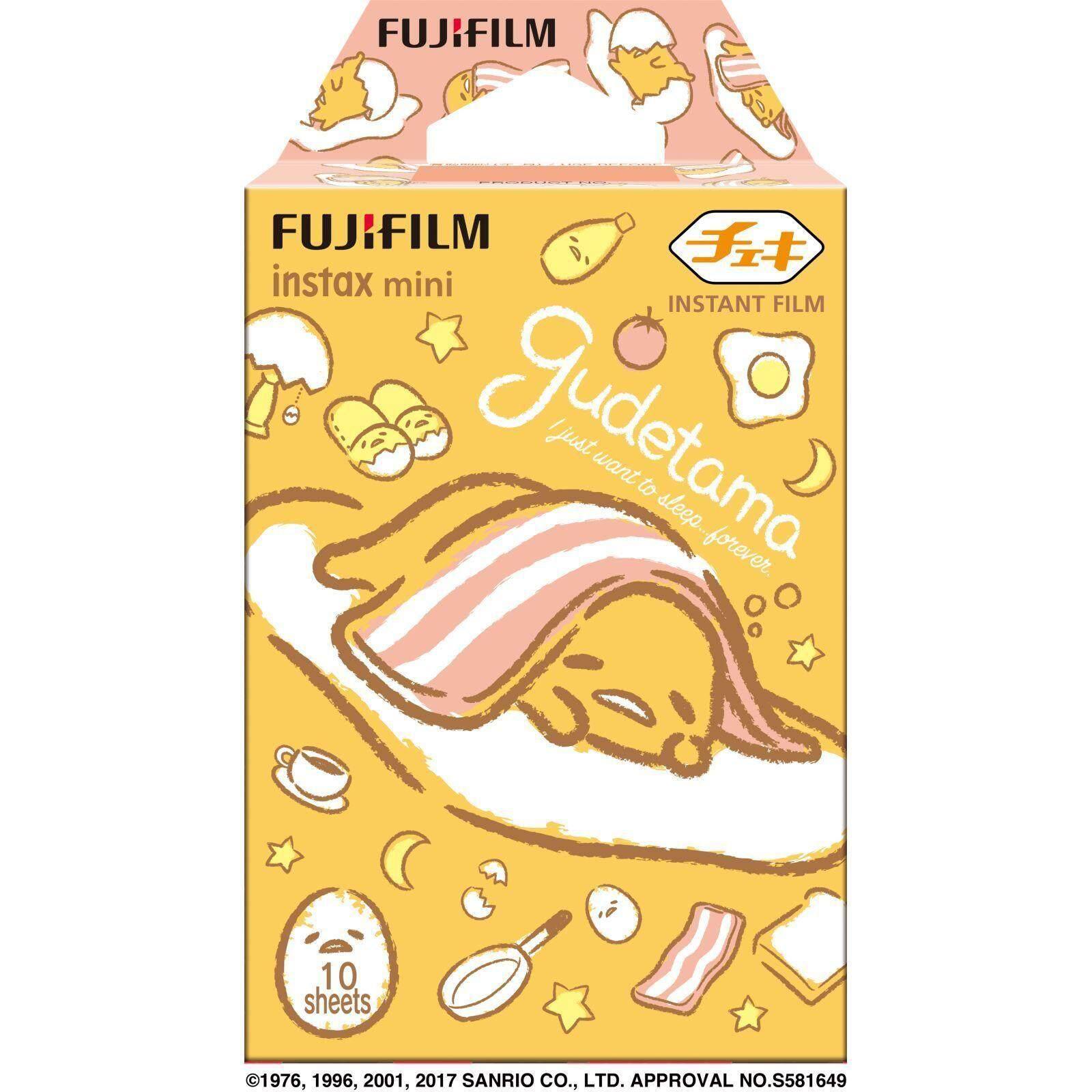 FUJIFILM INSTAX Mini Gudetama Instant Film (10 Sheets)