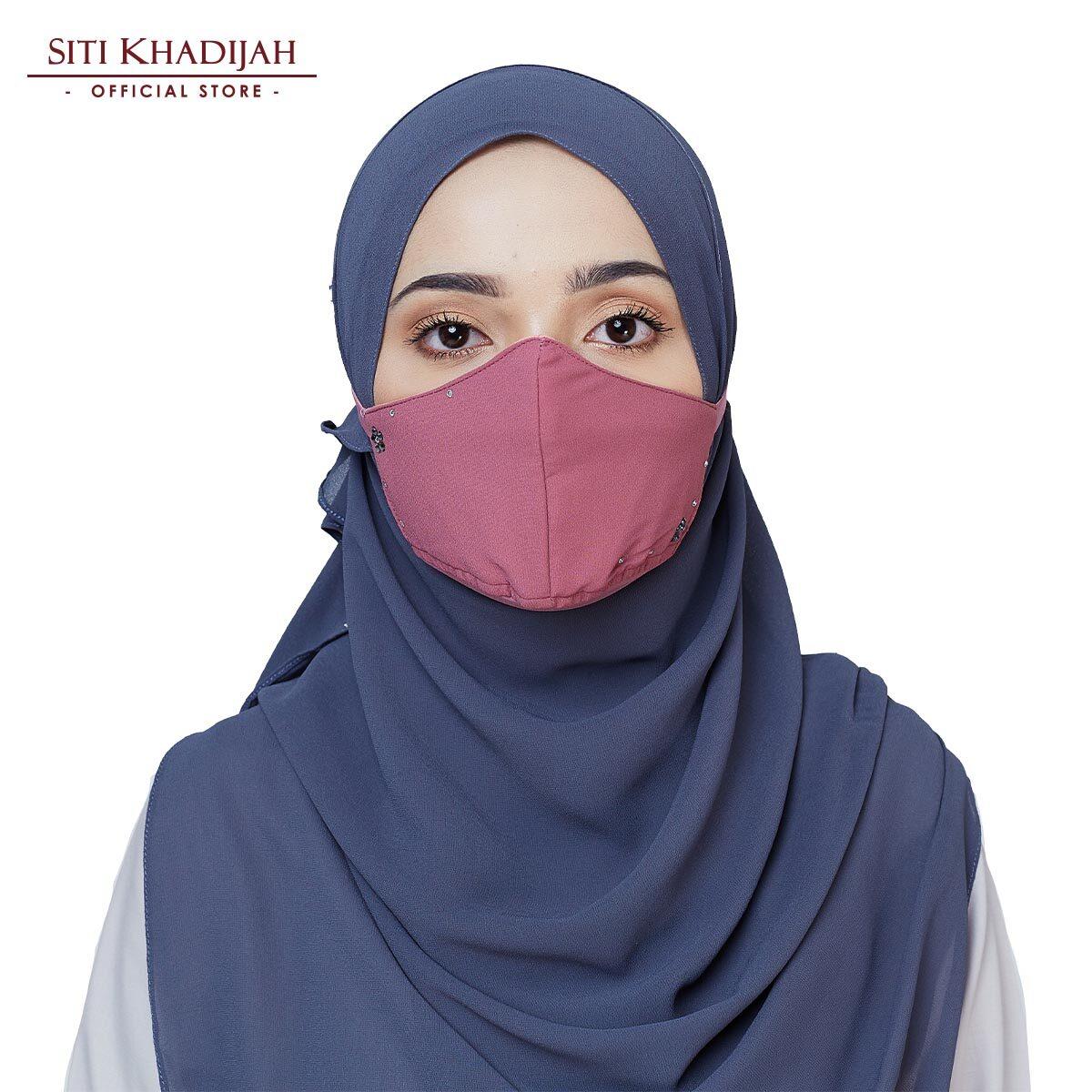 Siti Khadijah Swarovski Face Mask